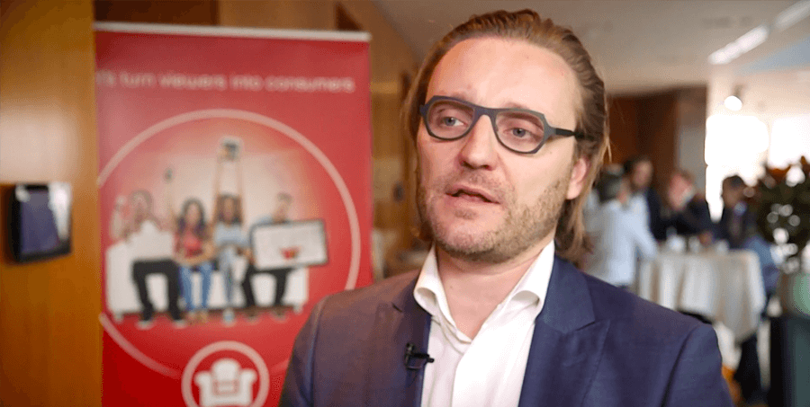 Zappware Strategy Summit 2019 – Michel De Wachter, Co-CEO at Spott discussing TV as a marketplace