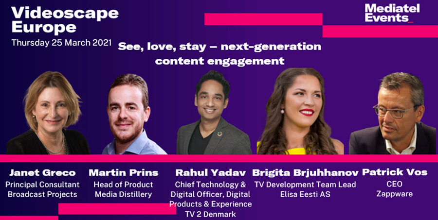 Panel: See, love, stay – next-generation content engagement