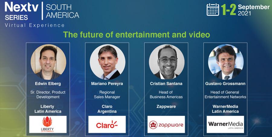 El futuro del entretenimiento y el video – Nextv Series South America 2021